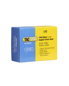 Tacwise 16G - 38mm Angled Finish Nails (2,500 Pack) - 0770