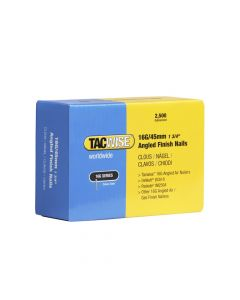 Tacwise 16G - 45mm Angled Finish Nails (2,500 Pack) - 0771