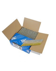 Tacwise 3.1 65mm Strip Nails Paper Collated CE/12 Micron Galv, 34º 2200 Pack - 1120