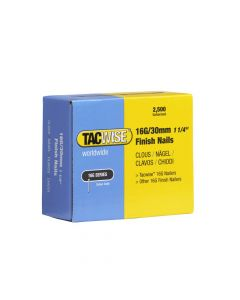 Tacwise Type 16G - 30mm Finish Nails (2,500 Pack) - 0293
