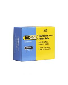 Tacwise Type 16G - 32mm Finish Nails (2,500 Pack) - 0294