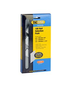 Tacwise Type 180 (18G) - Nail Selection Pack (4,000 Mixed Pack) - 0205