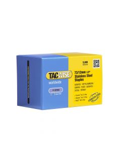 Tacwise Type 73 - 12mm Stainless Steel Staples (2,500 Pack) - 1228