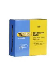 Tacwise Type 80 - 4mm Staples (10,000 Pack) - 0380