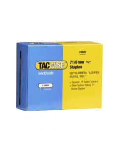 Tacwise Type 71 - 6mm Staples (20,000 Pack) - 0367