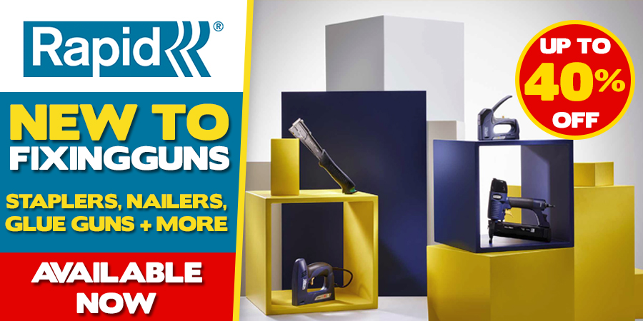 New Rapid Range Available Now!