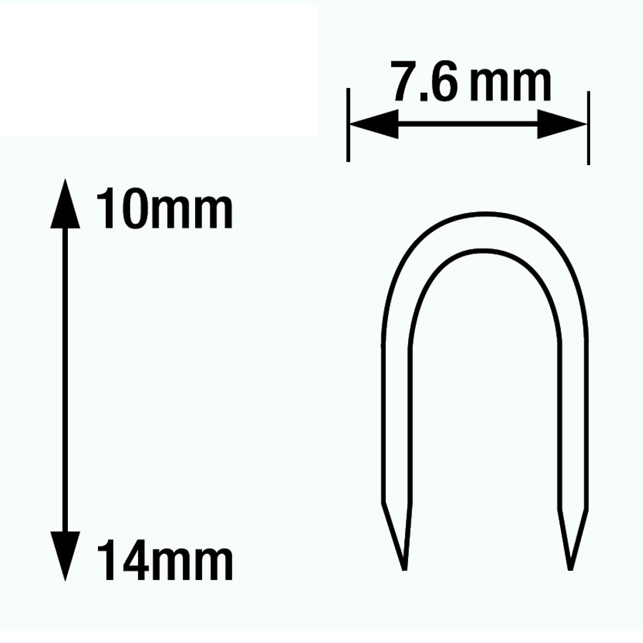 type ct-45 cable staples