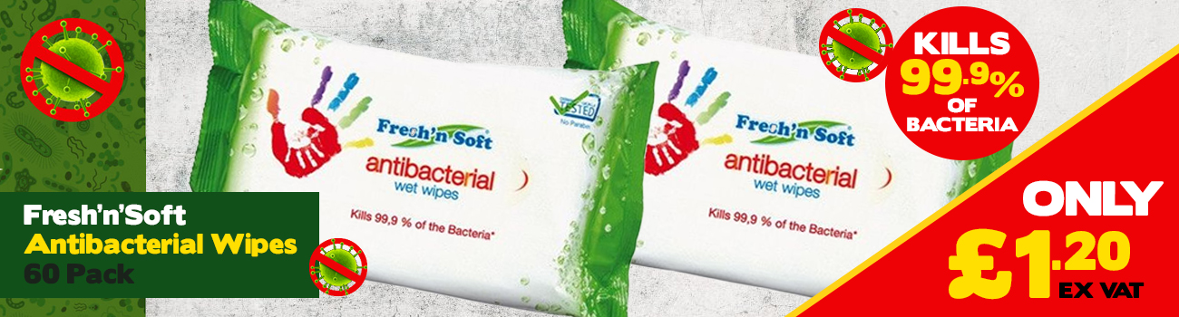 Fresh'n'Soft Antibacterial Wipes